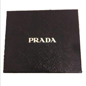 Prada wallet size gift box